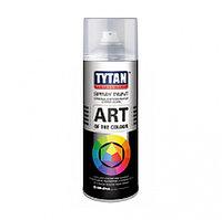 Краска аэрозольная белая глянцевая 400мл. TYTAN