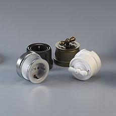 Керамические и металлические Retro механизмы