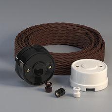 Полный набор аксессуаров для монтажа ретро-проводки