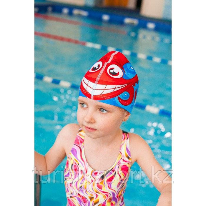 Шапочка для плавания «Осьминожка», детская, текстиль - фото 2