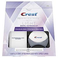 Отбеливающие полоски Crest+Light