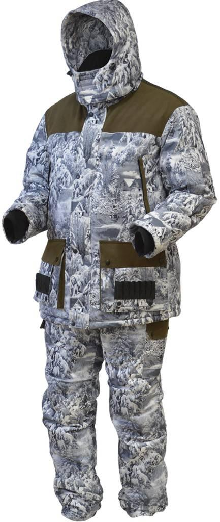 Охотничий костюм зимний ХСН «Орлан» (снежный лес, модель С301-1) размер 182-108, 112-96, 100 - фото 2