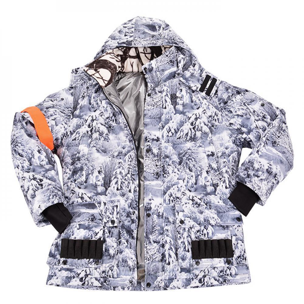 Охотничий костюм зимний ХСН «Орлан» (снежный лес, модель С301-1) размер 182-108, 112-96, 100 - фото 5