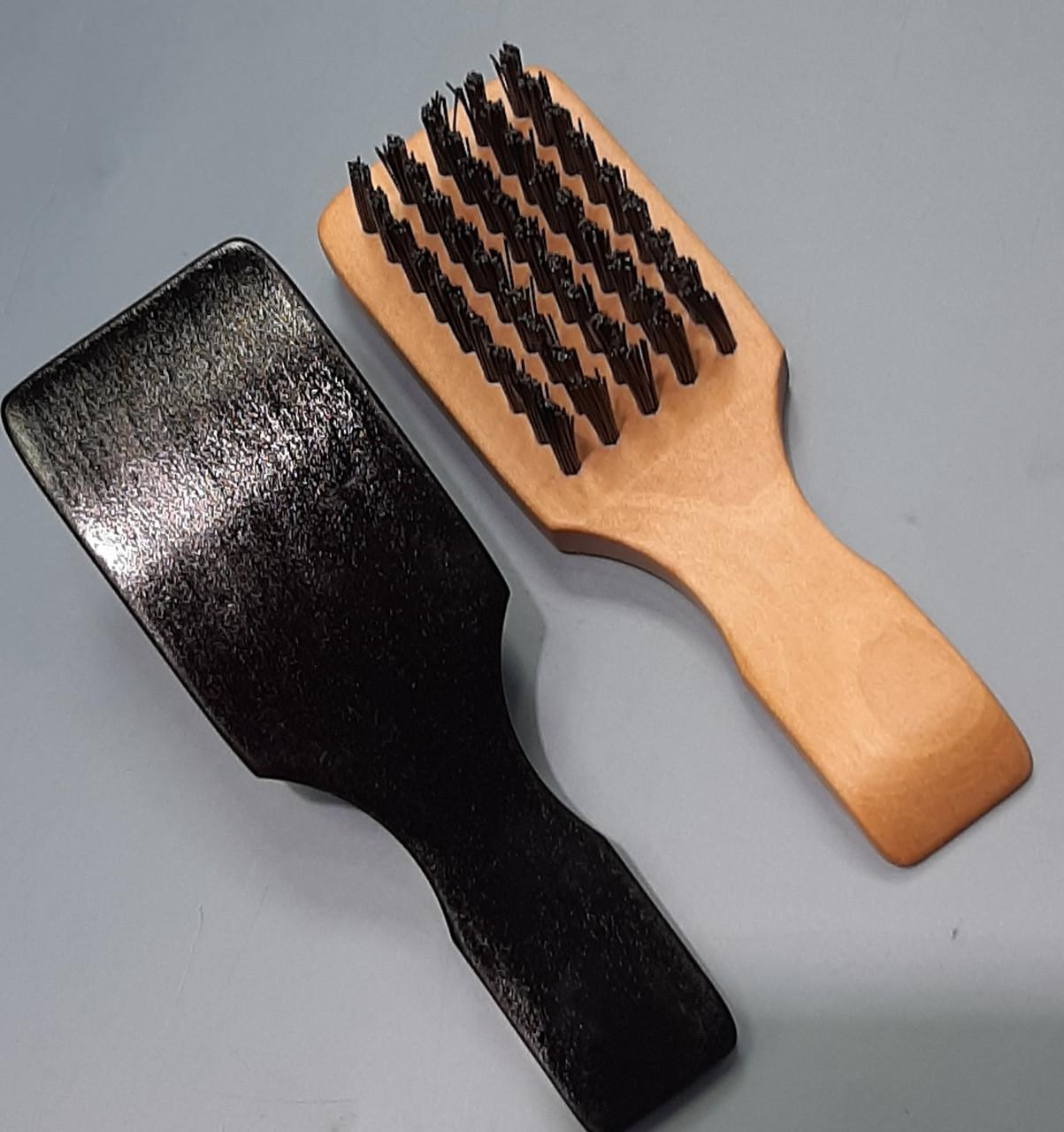 Щётка для фейдинга деревянная