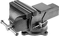 """Тиски STAYER """"STANDARD"""" слесарные с поворотным основанием, 200 мм/ 18,8кг 3254-200"""