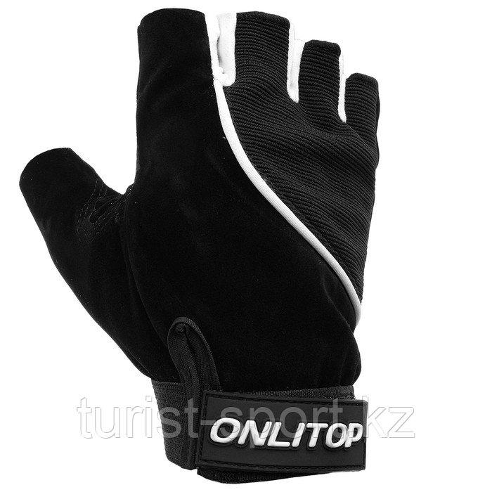 Перчатки спортивные ONLITOP, размер M, цвета микс