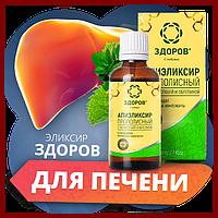 Эликсир ЗДОРОВ для печени, на натуральных продуктах пчеловодства, фото 1