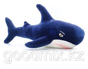 Мягкая игрушка Акула велюр (80 см)