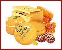 Крем-воск Здоров от боли в суставах, на натуральных продуктах пчеловодства
