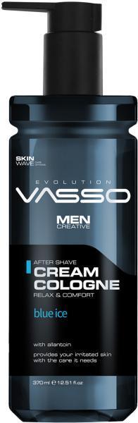 Vasso Крем-одеколон после бритья Blue Ice, 370 мл