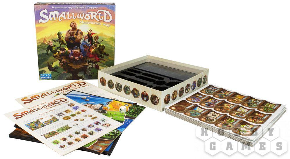 Настольная игра: Small World: Маленький мир, арт. 1605 - фото 2