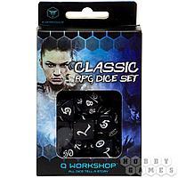 "Набор кубиков ""Классика"", 7шт., Black/White SCLE05"