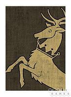 """Аксессуары: Игра Престолов HBO. Протекторы (65.5x80 мм, 50 шт.): """"Дом Баратеон"""" (HBO Card Sleeve - H"""