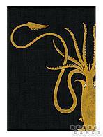 """Аксессуары: Игра Престолов HBO. Протекторы (65.5x80 мм, 50 шт.): """"Дом Грейджой"""" (HBO Card Sleeve - H"""