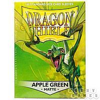 Протекторы Dragon Shield (100шт. 63х88 мм): Apple Green Matte At-11018
