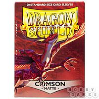Протекторы Dragon Shield (100шт. 63х88 мм): Crimson Matte AT-11021