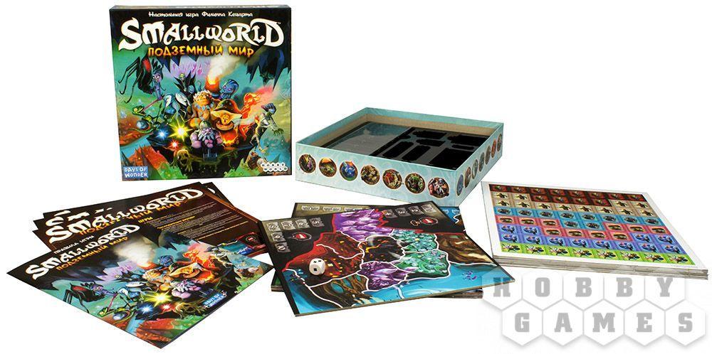 Настольная игра: Small World: Подземный мир, арт. 1869 - фото 2