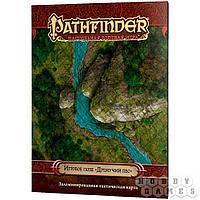 """Настольная игра: Pathfinder. Настольная ролевая игра. Игровое поле """"Дремучий лес"""", арт. 1886"""
