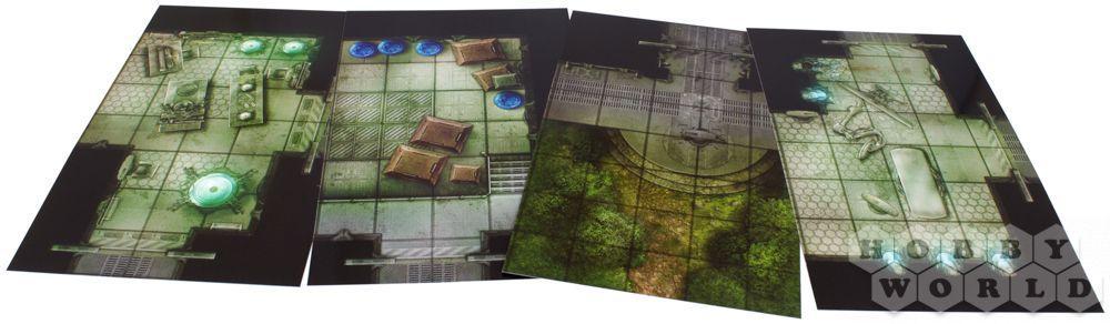 Pathfinder. Настольная ролевая игра. Составное поле «Отсеки звездолётов», арт. 915194 - фото 4