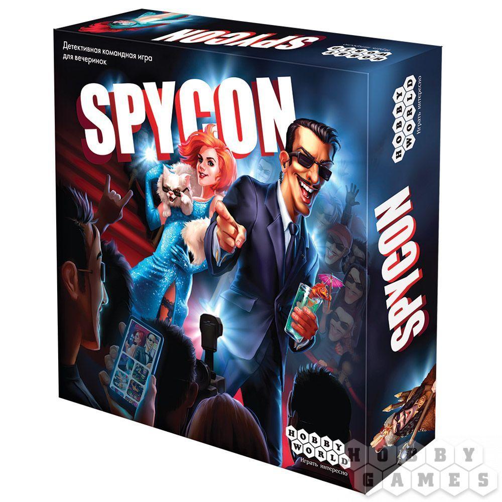 Настольная игра: Spycon, арт. 915164 - фото 1