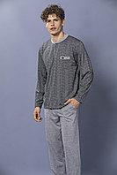 Пижама мужская* M / 46-48, Серый