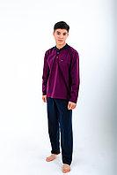Пижама мужская* 2XL / 52-54, Бордовый