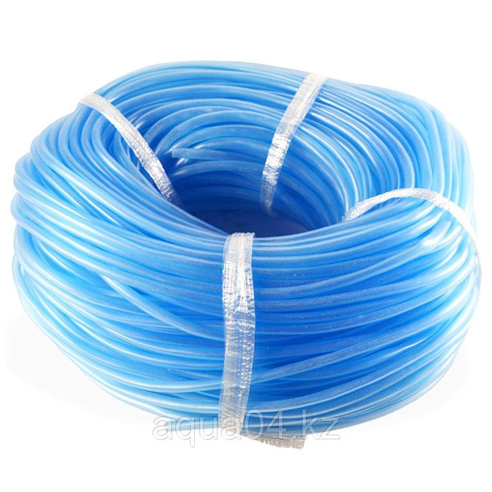 Шланг силиконовый голубой (4/6 мм) 100 метров