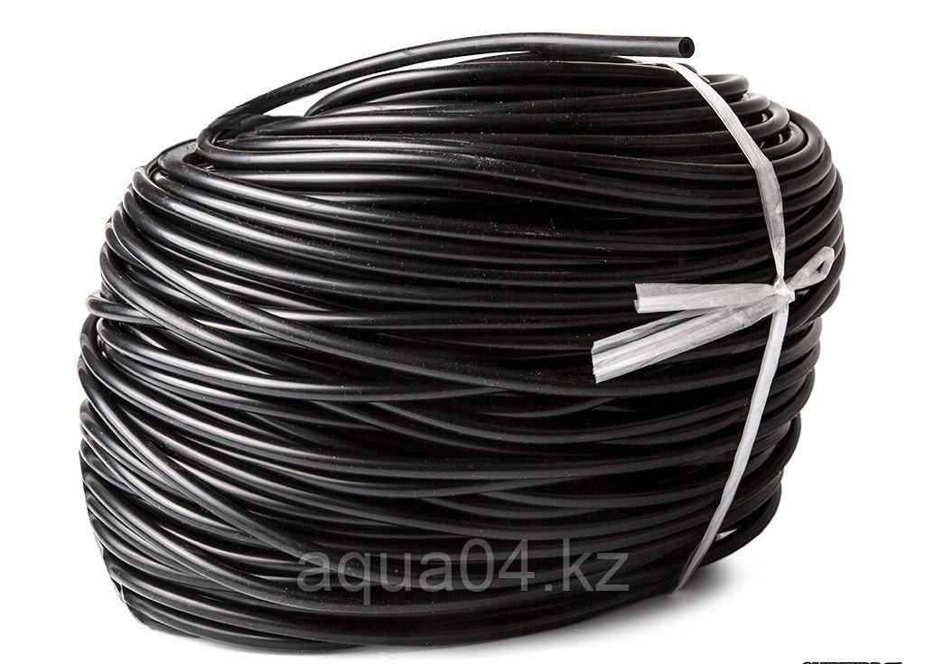 Шланг силиконовый черный (4/6 мм) 100 метров