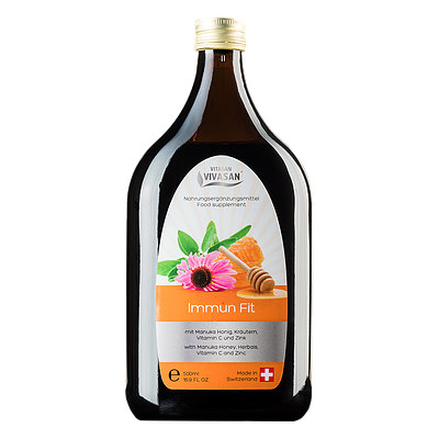 Напиток Иммун Фит Vivasan 500ml (Оригинал-Швейцария)