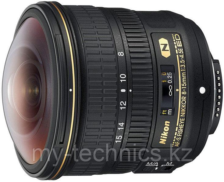 Объектив Nikon AF-S Fisheye 8-15mm F/3.5-4.5E ED