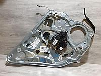 6Q4839461E Стеклоподъемник задний левый для Volkswagen Polo 2001-2009 Б/У