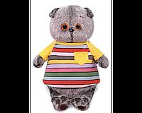 BASIK: Басик в полосатой футболке с карманом 19 см