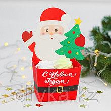 Снек-бокс «С Новым годом!», дед мороз