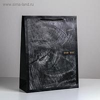 Пакет ламинированный вертикальный Wood style, L 31 × 40 × 11,5 см