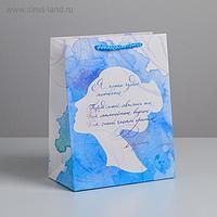 Пакет ламинированный вертикальный «Чудное мгновенье», MS 18 × 23 × 10 см