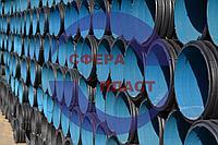 Труба SN8 Ду-400 канализационная гофрированная