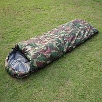 Армейский спальный мешок Chanodug (190+30)*75 см утепленный
