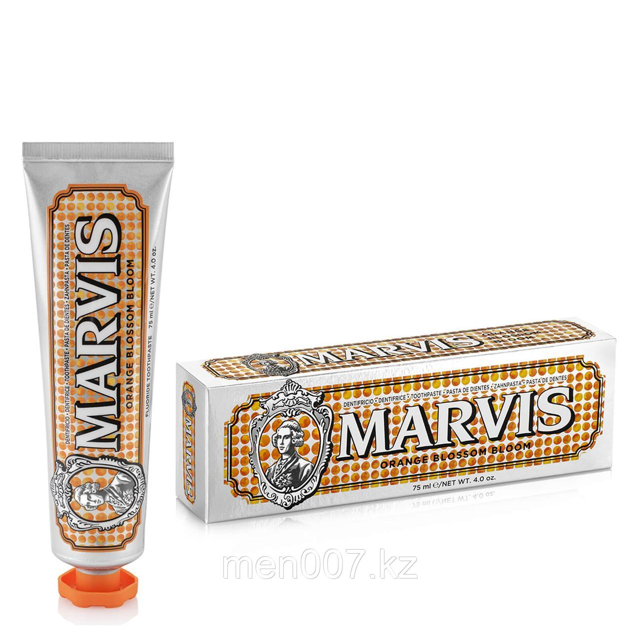 Marvis Orange Blossom Bloom (отбеливающая зубная паста) 75 мл