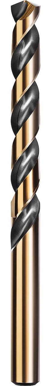 Сверло по металлу KRAFTOOL, Ø 13 мм, HSS-Co (8%), класс A, DIN 338 (29656-13)