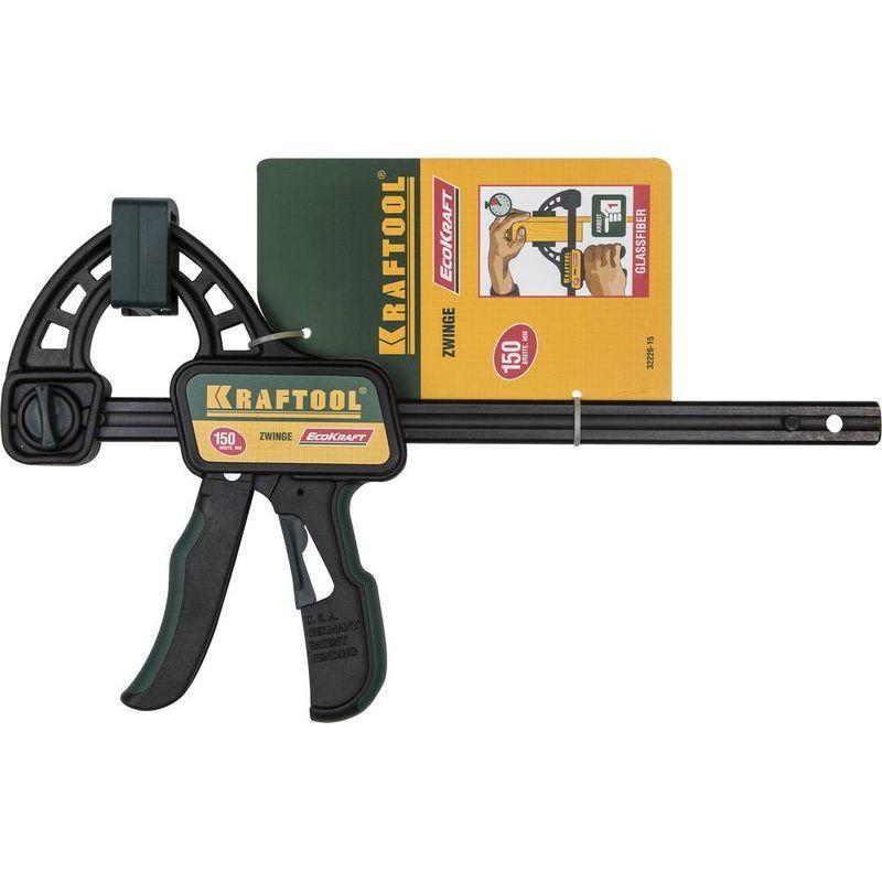 Струбцина пистолетная KRAFTOOL F, 150х85 мм (32226-15_z01)