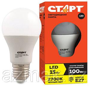 Светодиодная лампа СТАРТ LED GLS E27 15W 30