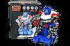 Немного помятая!!! ZR141 Робот Оптимус (движение,музыка,свет) BOT PIONER 20*16см