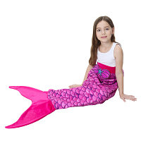 Детское одеяло с хвостом русалки
