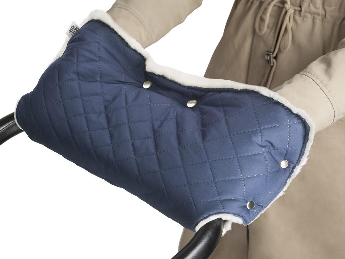 Муфта для рук на коляску Melanie, цвет синий - фото 8