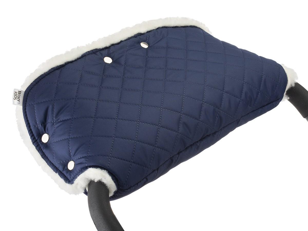 Муфта для рук на коляску Melanie, цвет синий - фото 6