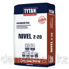 Пол наливной 25 кг TYTAN NIVEL 2-20 TS23
