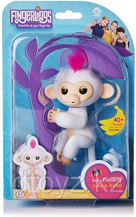 WowWee Интерактивная обезьянка Fingerling Monkey