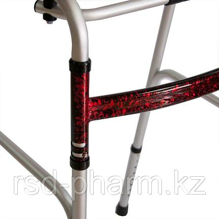 Медицинские ходунки с опорой под локоть PMR818 (повышенной грузоподъемности), фото 2