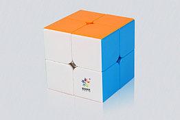 Профессиональный Кубик 2 на 2 Yuxin. Четкий углорез!