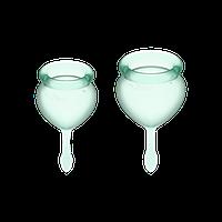 Набор менструальных чаш Satisfyer Feel Good, 15 мл, 20 мл